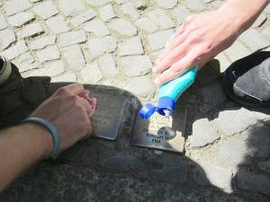 Stolpersteine für Hugo und Margarethe Loebell in Wilmersdorf